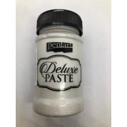 *** pentart pasta delux 100ml perła