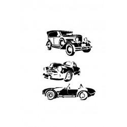 ***cadence szablon 21*30 cm AS-446 samochody