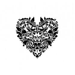 cadence szablon 21*30 cm AS-447 serce ko