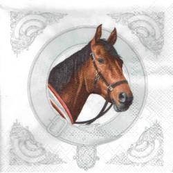 ***serwetka 33x33 Z76 koń w ramce