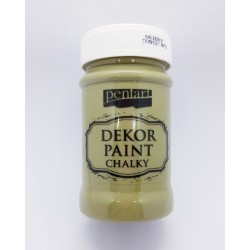 ***pentart farba kredowa 100 ml oliwkowy