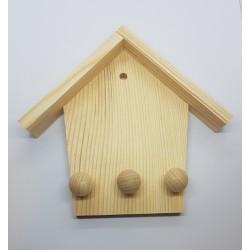 ***wieszak na klucze domek 15*2,7*13,5cm