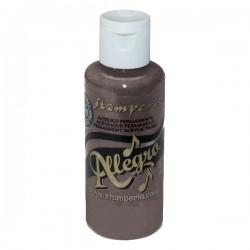 stamperia farba allegro 59 ml ciemny szary kal85