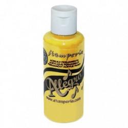 stamperia farba allegro żółty59 ml KAL10