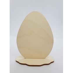 jajko 10cm z podstawką ( falbanka)