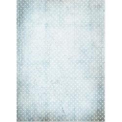 papier ryżowy A-3 R586L groszki błekitny