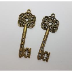 sz.metal kluczyk zdobny 6cm