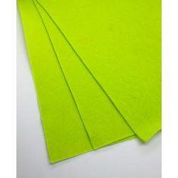 filc miękki A4 j.zielony