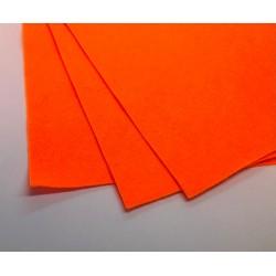 filc miękki A4 pomarańczowy