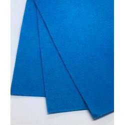 filc miękki A4 niebieski