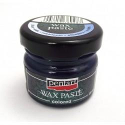 pentart pasta woskowa niebieski 20 ml
