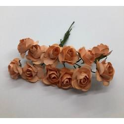 kwiat papierowy 1,4-1,9 cm pęk.12 szt ło