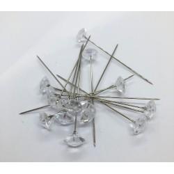 szpilka kryształ 10mm / op 10szt