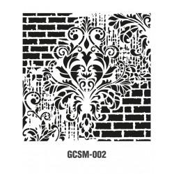 ***cadence szablon 25*25 cm GCSM 002
