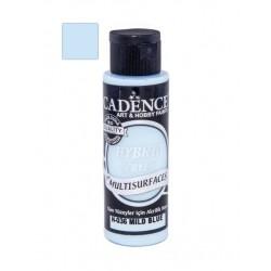 farba hybrydowa 70 ml H36 łagodny niebieski