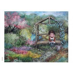 papier cienki A-5 3792 dziecko ogród