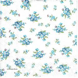 serwetka 25*25 K211 mini kwiatki niebies