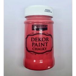 pentart farba kredowa 100 ml czerwony