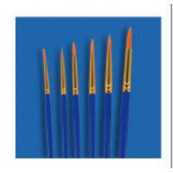 pędzel zestaw syntet (1,2,3,4,5,6)-JY-51