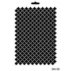 szablon A4 MA50 21*29cm tło