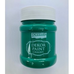 pentart farba kredowa 230 ml zieleń