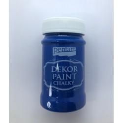 pentart farba kredowa 100 ml niebieski