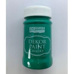 pentart farba kredowa 100 ml zieleń
