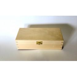 pudełko prostokątne z zapięciem 24*10,5*7cm