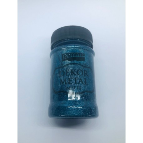 pentart farba dekor metal do mebli oxford niebiesk