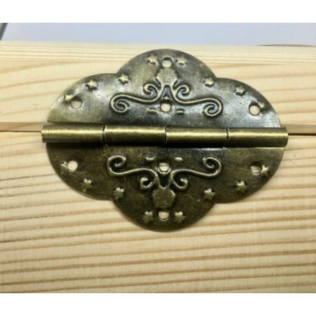 sz.metal zawias 7*5,4 cm / 2 szt