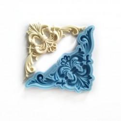 foremka silikonowa ornament rogowy