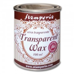 stamperia wosk transparentny 100ml