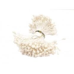 foamiran pręciki biały/100 szt