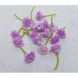 środki do kwiatów mini koszyczki różowe