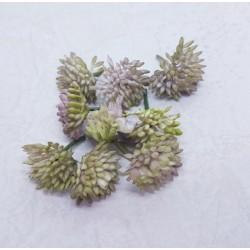 środki do kwiatów koszyczki cieniowany fiolet 9szt