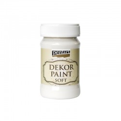 pentart farba kredowa 100 ml krem biały