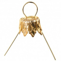zawieszki złoto 18 mm/4szt