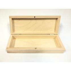 ***pudełko drewniane 16,8*10*2,7 cm
