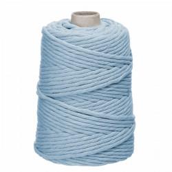 sznurek bawełniany skręcany 5mm 100m błękit
