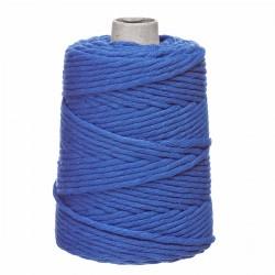 sznurek bawełniany skręcany 5mm 100m kobalt