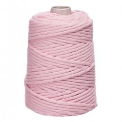 sznurek bawełniany skręcany 5mm 100m pudrowy róż