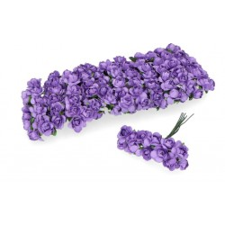 kwiat papierowy 1,4-1,9 cm pęk.12 szt la