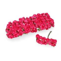 kwiat papierowy 1,4-1,9 cm pęk.12 szt fu