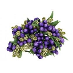 kaszka ryżyk fiolet z gałązkami /pęczek