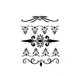 cadence szablon A-4 AS-513 zdobne dekory