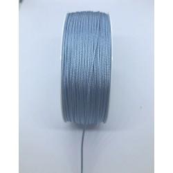 sznurek do robienia chwostów niebieski len