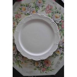 ***ceramika talerz frezowany śr.33cm