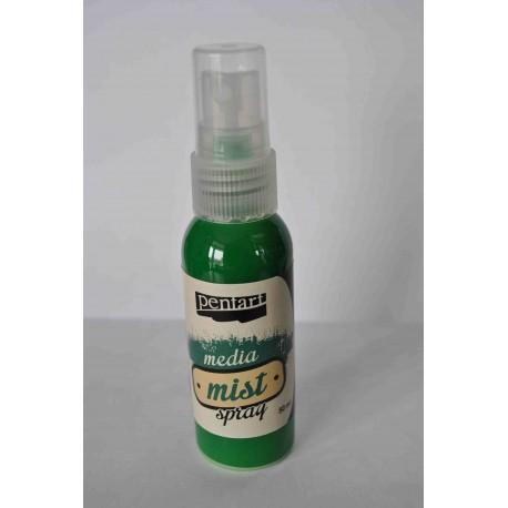 Pentart farba mixmedia spray perła zielona 50ml