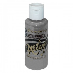 stamperia farba allegro 59 ml KAL73 szary