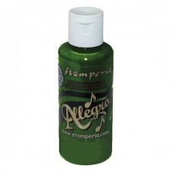 stamperia farba allegro 59 ml KAL100 zielen mech